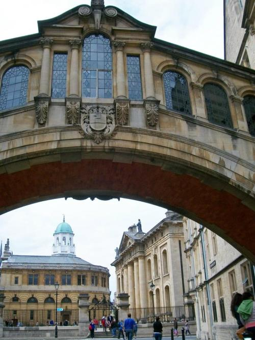 bridge of sighs, hertford bridge, oxford, uk, britain