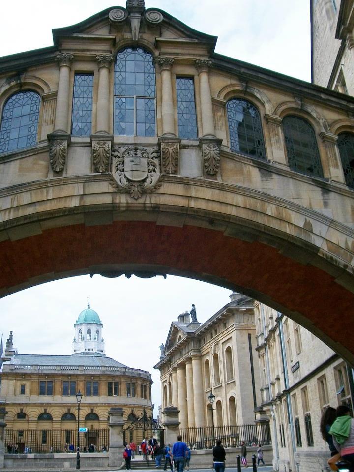 bridge of sighs, hertford bridge, oxford, uk, britain