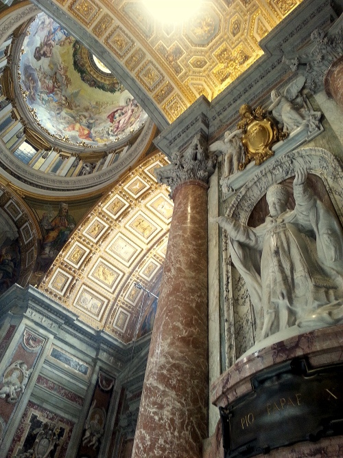 st peters basilica, rome, italy, pope