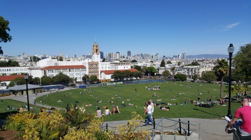 Dolores Park, Castro, San Francisco, California