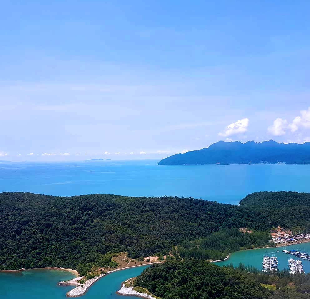 The view from above - Langkawi, Malaysia